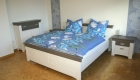 Schlafzimmer im Nordsee Ferienhaus Varel