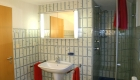 Badezimmer im Nordsee Ferienhaus Varel