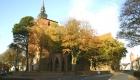 Schlosskirche im Sonnenlicht