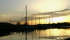 Abendstimmung am Vareler Hafen