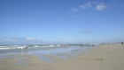 Unendlicher Strand auf der Insel Wangerooge