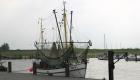 Fischkutter im Hafen des Nordseebades Dangast