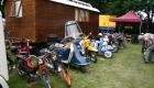 Von der Mofa bis zum Motorrad auf der Oldtimer Ausstellung am Vareler Hafen