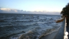 Sturmflut an der Nordseeküste