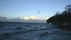 Sturm und Wellen im Herbst