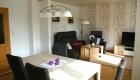 Wohn- und Esszimmer im Nordsee Ferienhaus Varel